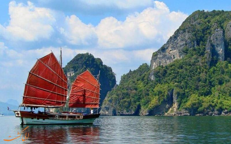 آشنایی با جاذبه های هیجان انگیز تایلند