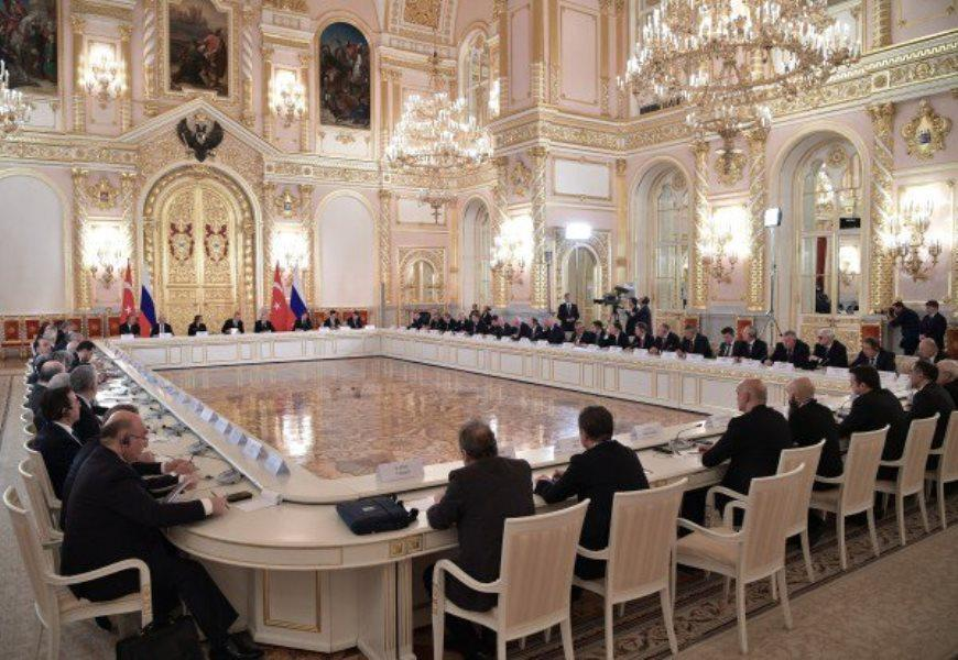 روسیه و ترکیه بدنبال رسیدن به تراز تجاری 100 میلیارد دلاری