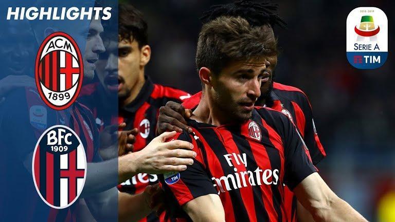 هفته سی و پنجم سری آ ایتالیا؛ پیروزی میلانی ها در دیداری خانگی
