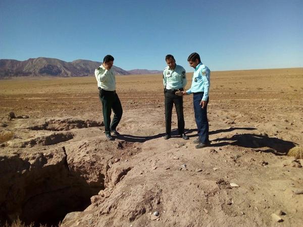 گشت مشترک مأموران انتظامی و یگان حفاظت میراث فرهنگی نیشابور