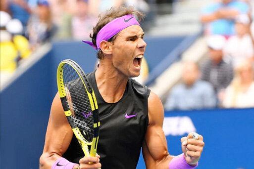 قهرمانی نفس گیر نادال در تنیس آزاد آمریکا