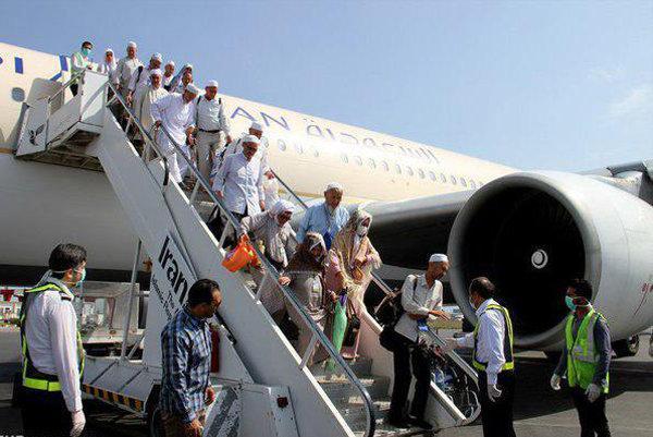 بازگشت بیش از90 درصد حجاج ایرانی به وطن