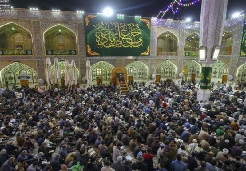 عراق، حضور سه میلیون زائر در مراسم بزرگ عید غدیر در نجف اشرف