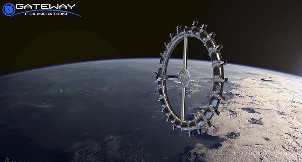 طرح اولیه از هتل فضایی را ببینید، با گرانشی شبیه ماه