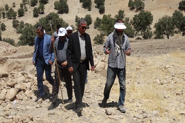 بازدید رئیس پژوهشکده باستان شناسی از عملیات فصل سوم کاوش سادات محمودی