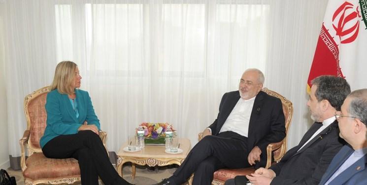 موگرینی با ظریف در نیویورک دیدار می کند