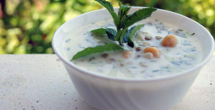 آشنایی با آش دوغ ، غذای اصیل اردبیل Ash-e doogh