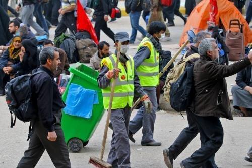 حضور نیروهای شهرداری تهران در عراق تا 30 مهرماه