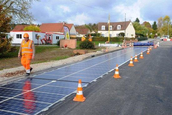 جاده هایی که برق شهرها را تأمین می کنند