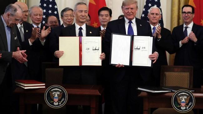 اعلام آتش بس در جنگ تجاری آمریکا و چین