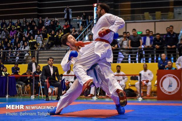 کاراته کاهای ایران رقبای خود را شناختند