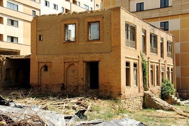 تغییر کاربری خانه اربابی دیزج سیاوش بعد از اتمام مرمت به موزه بانک