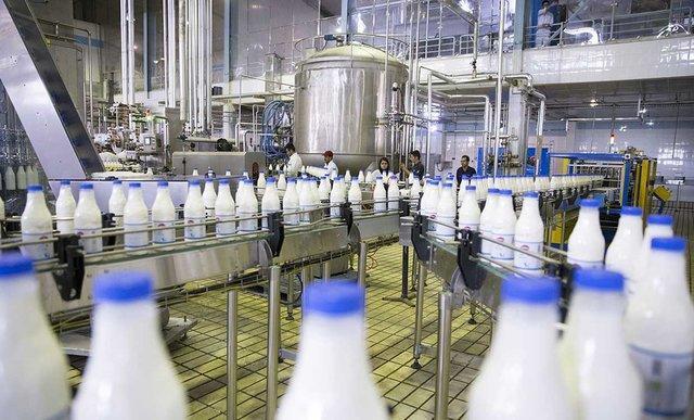 کاهش 35 درصدی فروش شیر