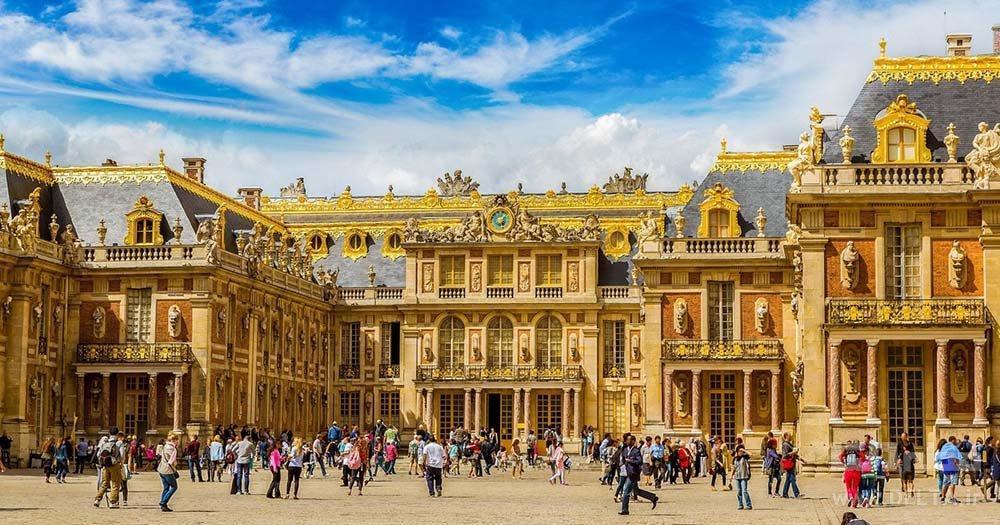 کاخ ورسای ؛ جاذبه دیدنی پاریس