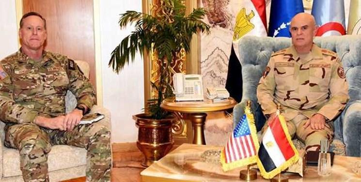دیدار مقامات نظامی ارشد آمریکا و مصر