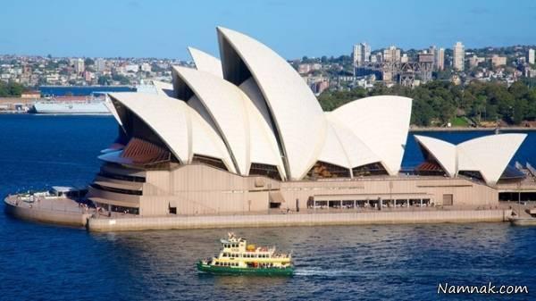 مکانهای دیدنی و زیبای توریستی استرالیا