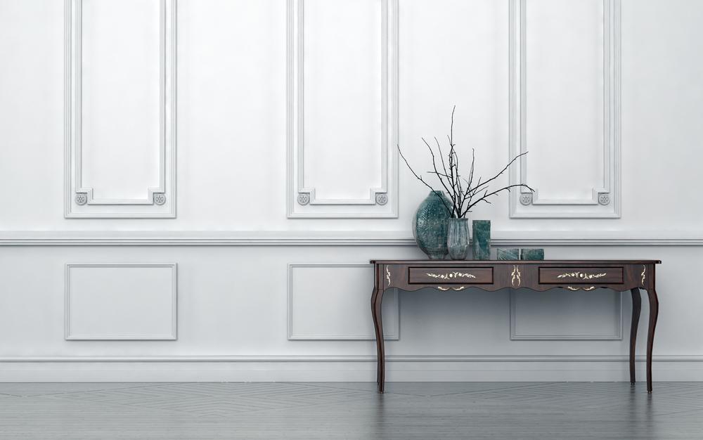 کنسول چوبی بهترین ایده برای زیبایی دکوراسیون منزل