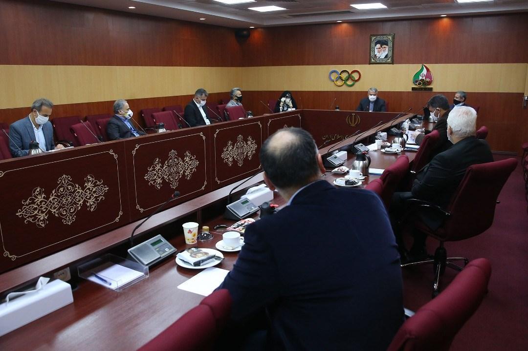 بودجه و برنامه ریزی برای فدراسیون های المپیکی بررسی شد