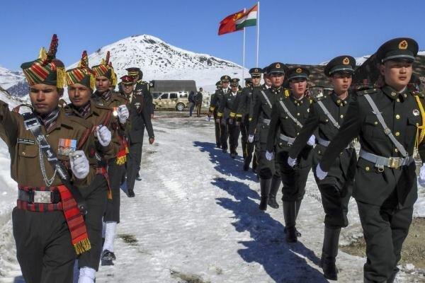 موافقت ارتشهای هند و چین با عقب نشینی از مرز مورد مناقشه هیمالیا