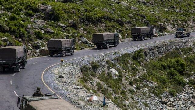 افزایش تنش در مرز هند و چین