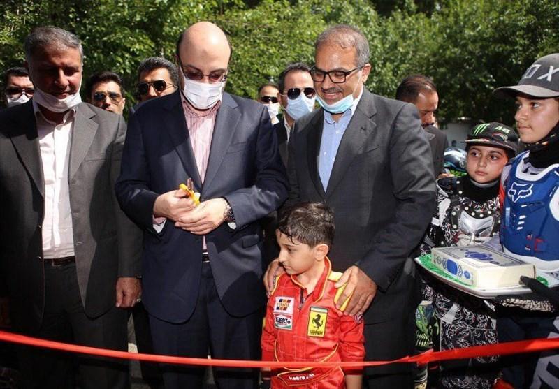 افتتاح آموزشگاه بین المللی موتور سواری و اتومبیلرانی
