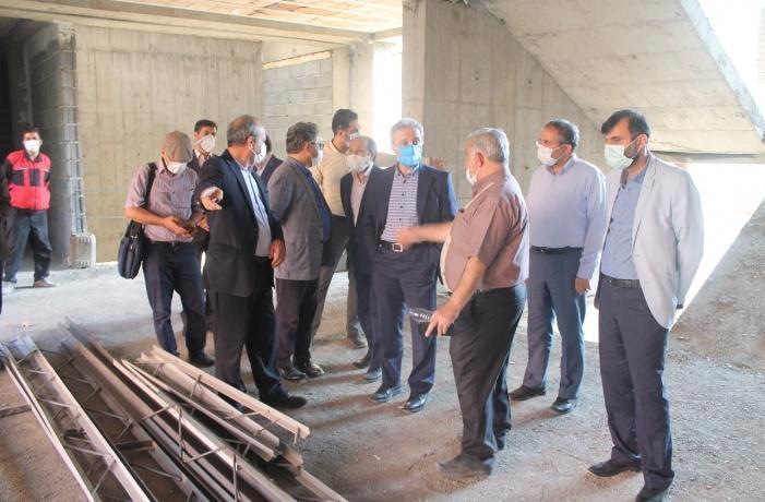 عملیات ساخت مجدد خوابگاه 250 نفره در کوی دانشگاه تهران از سر گرفته شد