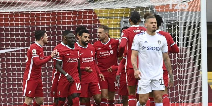 لیورپول 4-3 لیدز؛ صلاح، قرمز ها را فراری داد