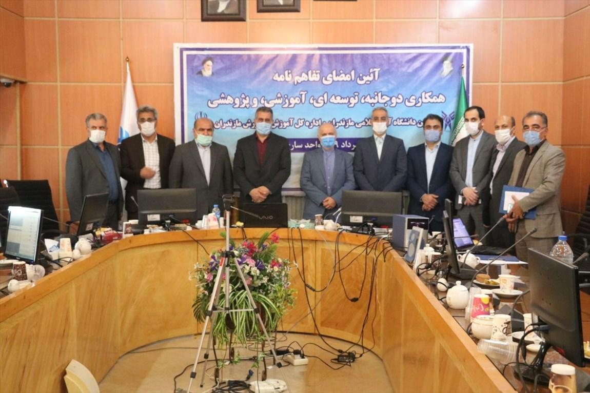 دانشگاه آزاد اسلامی مازندران ظرفیت ارتباط کیفی با آموزش و پرورش را دارد