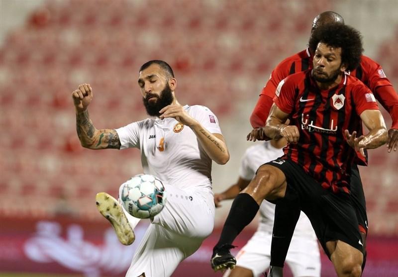 جام حذفی قطر، شکست سنگین الاهلی در حضور ابراهیمی ، صعود الریان در غیاب خلیل زاده