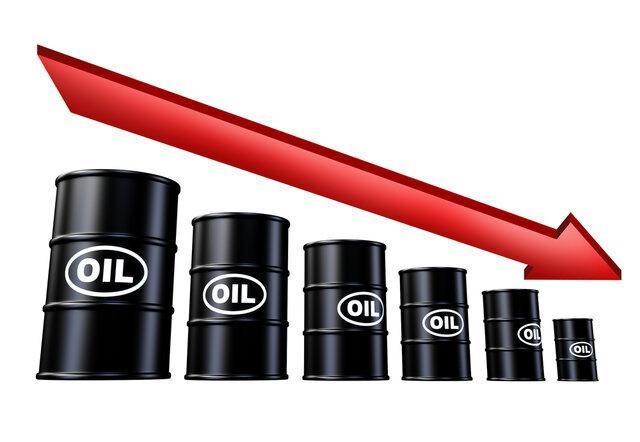 کاهش مجدد قیمت نفت