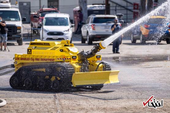 استخدام ربات های آتش نشان در لس آنجلس