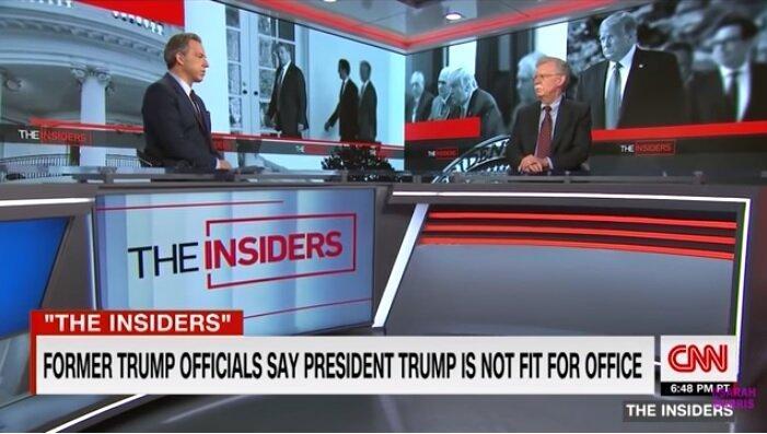بولتون: ترامپ محترمانه از قدرت کناره گیری نمی کند