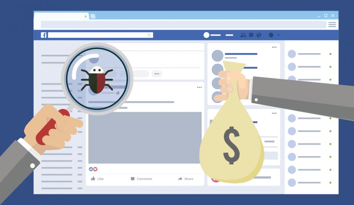 پاداش فیسبوک برای پیدا کردن باگهای امنیتی