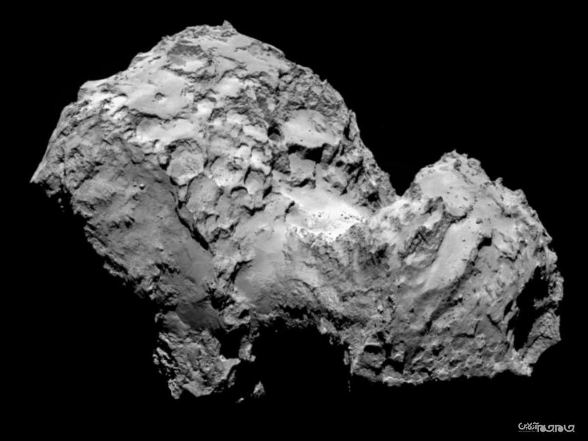 پیداشدن عنصر حیات بر روی یک دنباله دار