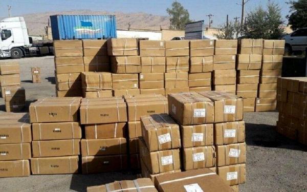 خبرنگاران توقیف 700 میلیون تومان کالای قاچاق در کوهدشت