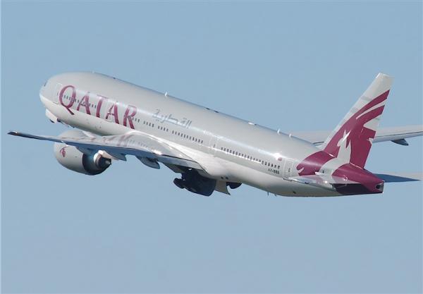 شرکت هواپیمایی قطر دوباره از آسمان عربستان پرواز می نماید