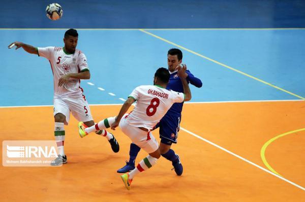 خبرنگاران احمدی: ملاقات با تیم فوتسال برزیل برابر با50 بازی با تیم های آسیایی است