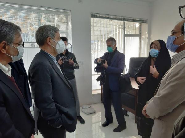 خبرنگاران نخستین سلامتکده ویژه درمان کرونا در مشهد افتتاح شد