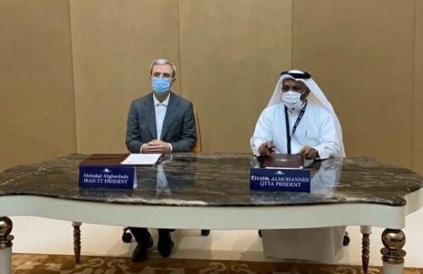 تنیس روی میز ایران و قطر همکاری دو ساله خواهند داشت