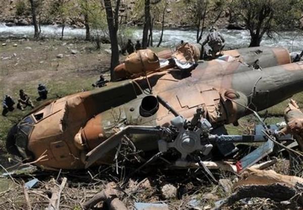سقوط بالگرد ارتش افغانستان 9 کشته برجا گذاشت