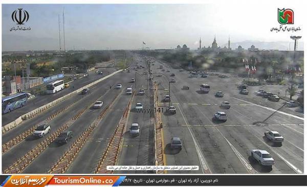 آخرین شرایط ترافیکی جاده های کشور، تردد روان در محور های هراز و فیروزکوه