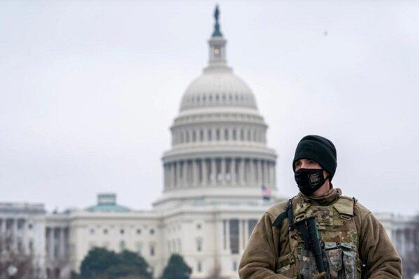 تشدید تدابیر امنیتی در اطراف کنگره آمریکا