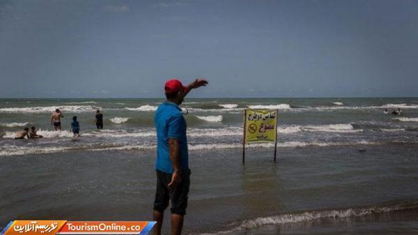 دریای مازندران امسال تمهیدات شنا ندارد