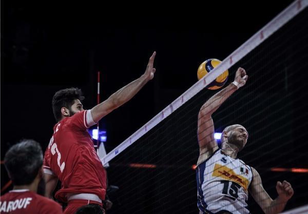 لیگ ملت های والیبال، عبادی پور، غایب عظیم ملاقات ایران مقابل بلغارستان