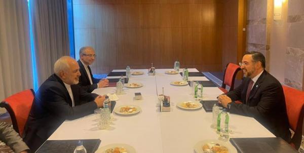 رایزنی ظریف و صلاح الدین ربانی، تأکید بر ضرورت همکاری همه جریان های افغانستان