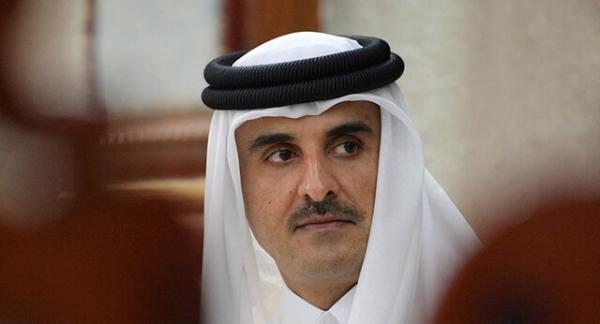 پیغام کتبی امیر قطر به رئیس جمهور افغانستان