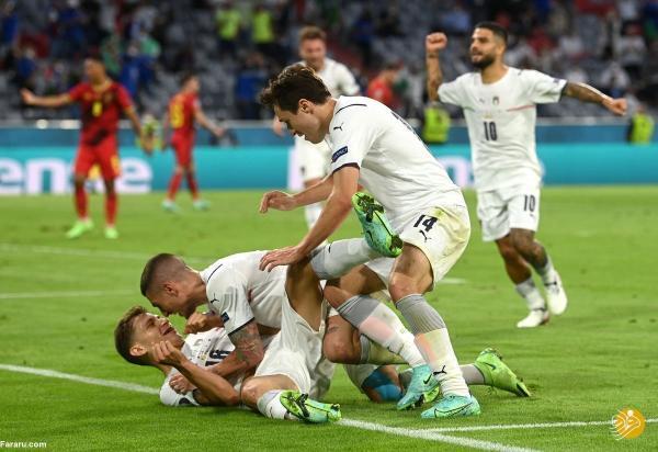 خلاصه بازی بلژیک 1 ، 2 ایتالیا؛ حذف شیاطین سرح