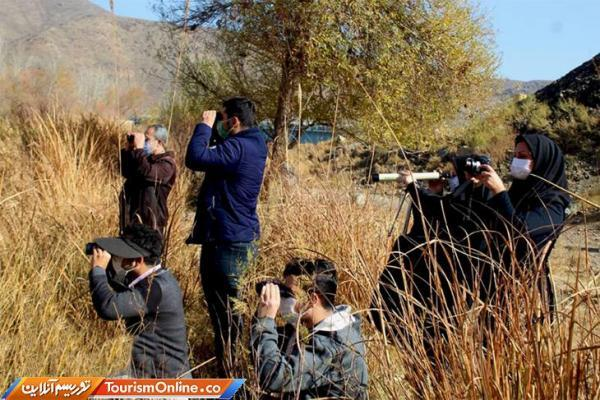 برگزاری تور پرنده نگری در شهرستان لنجان