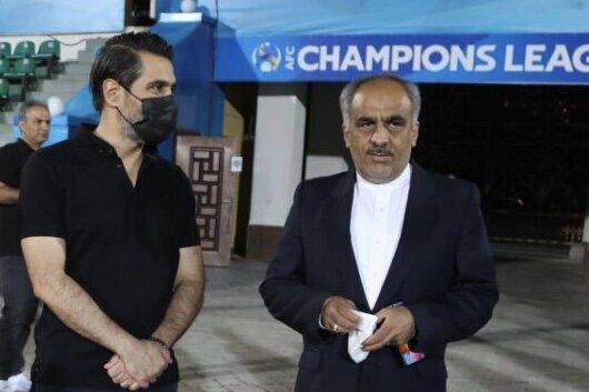 سفیر ایران در تاجیکستان نظاره گر تمرین پرسپولیس